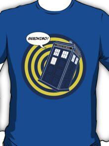Tardis Geronimo (Comics) T-Shirt
