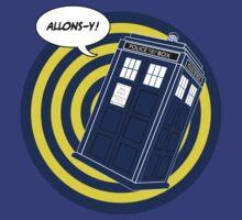 Tardis Allons-Y (Comics) by ixrid