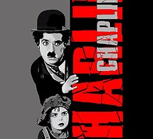Charlie Chaplin with the kid sneak a peek by Arief Rahman Hakeem