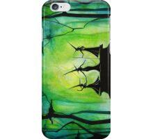 Emerald Forest Fire iPhone Case/Skin