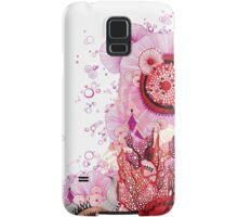 Coral Sunburst Samsung Galaxy Case/Skin