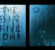 The Big Five Oh !! (blue) by grant-ham-cards