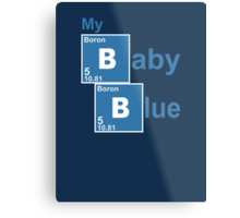 My baby blue Metal Print