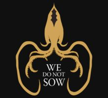 We do not sow - White Ed by Arrow310