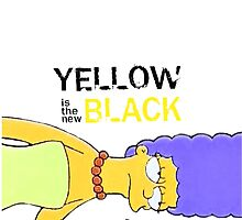 Yellow is the new Black  by MeganHilleard