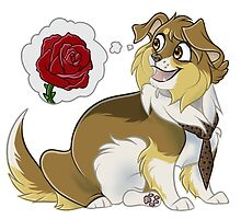 Doge!Ten and (a) Rose by CaptainGoat