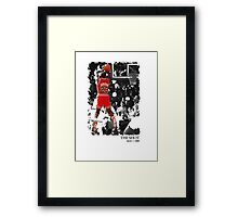 The Shot Framed Print