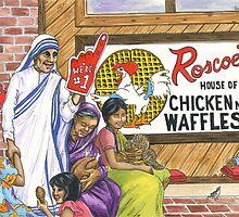 Roscoe's House of Chicken n' Waffles by sonyaandrews