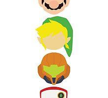 Nintendo Greats - Vertical by MoleFole