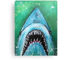 Spawn of Jaws Canvas Print
