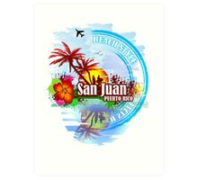 San Juan Puerto rico Art Print