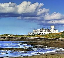 View of the Castletown Golflinks  by manxhaven