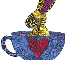 Tea Cup Bunny by AliceTeaTime