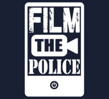 FILM THE POLICE (white) by absenthero