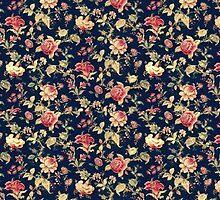 Dark Floral Phone Case by astraeanm