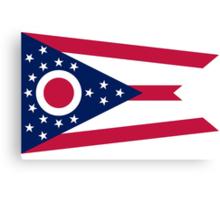 Ohio State Flag Canvas Print