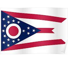Ohio State Flag Poster