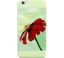 A Red Flower in Sharona's Dreams iPhone Case/Skin