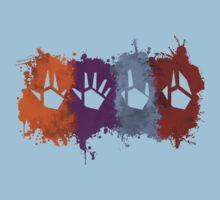 Prime Beams Splatter (Transparent Symbols) Kids Clothes