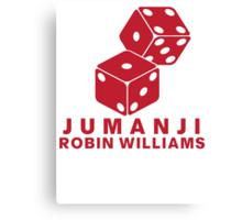 Jumanji Robin Williams Canvas Print