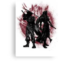 Born Enemies Canvas Print