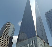 The New World Trade Center Nears Completion, Lower Manhattan, New York City by lenspiro