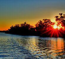 Thomson River Longreach by stanpacz