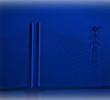 Bridge in Blue by Huskyfan