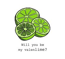 Will You Be My Valenlime? by tosojourn