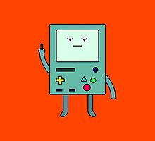 Bad Mood BMO by kylefairhurst