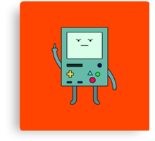 Bad Mood BMO Canvas Print