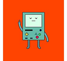 Bad Mood BMO Photographic Print