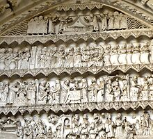 Toledo - Cathedral Door Frieze detail by Michelle Falcony