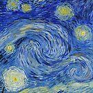 Starry sky: Vincent-like by SKVee