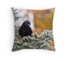 Fall Forage Throw Pillow
