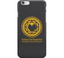 Eeylops Owl Emporium in Yellow iPhone Case/Skin