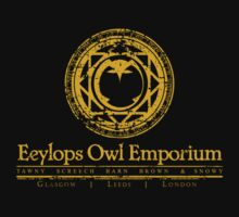 Eeylops Owl Emporium in Yellow by adamgamm