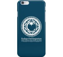 Eeylops Owl Emporium in White iPhone Case/Skin