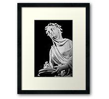 Veiled Vestal Virgin Framed Print