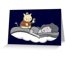 Freddy Cat-grr Greeting Card