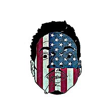 Chance The Rapper USA Flag by coolGEORGE