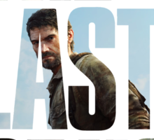 Tlou (collage) Sticker