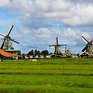 Three Windmills by Pravine Chester