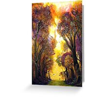Colour of Trees Greeting Card