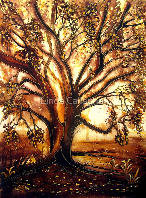 Autumn's Gold by © Linda Callaghan