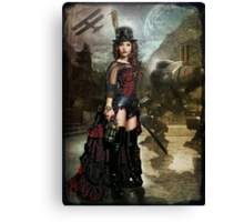 Steampunk Slayer Canvas Print
