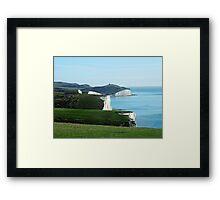 Seven Sisters Cliffs, East Sussex Framed Print