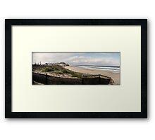 Bar Beach (Newcastle) Framed Print
