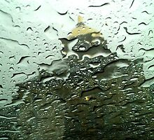 Rainy Day at the Golden Dome by Angie333