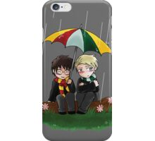 Harry and Draco Chibis iPhone Case/Skin